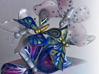 Jak vyrobit papírového motýla