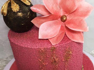 Sametový dort návod